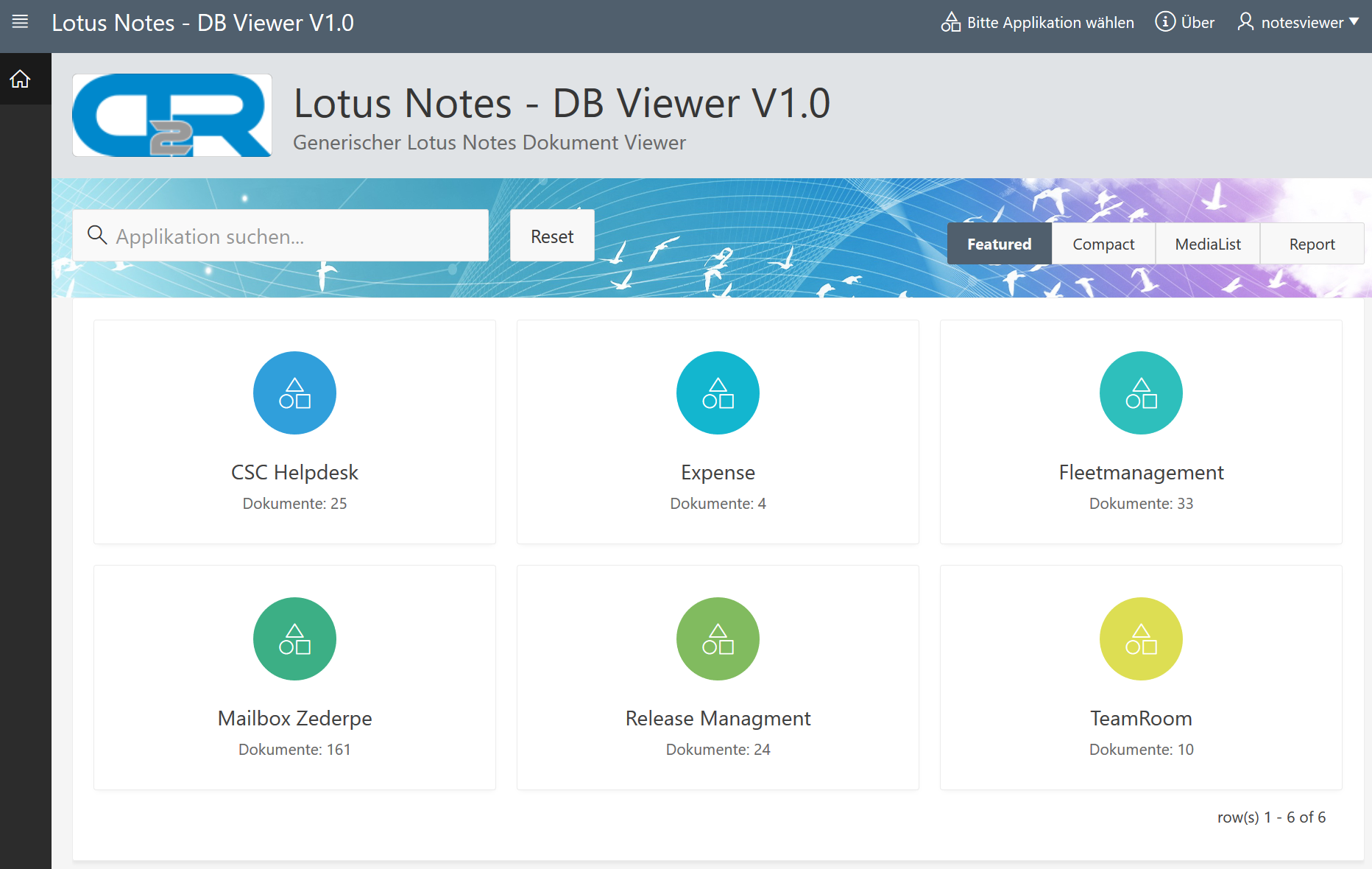 Lotus Notes - DB Viewer